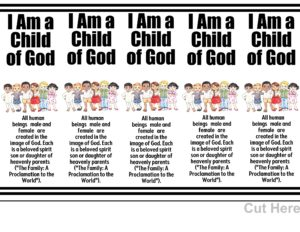 graphic about Who I Am in Christ Printable Bookmark called Main Web page 4 The Notion Doorway