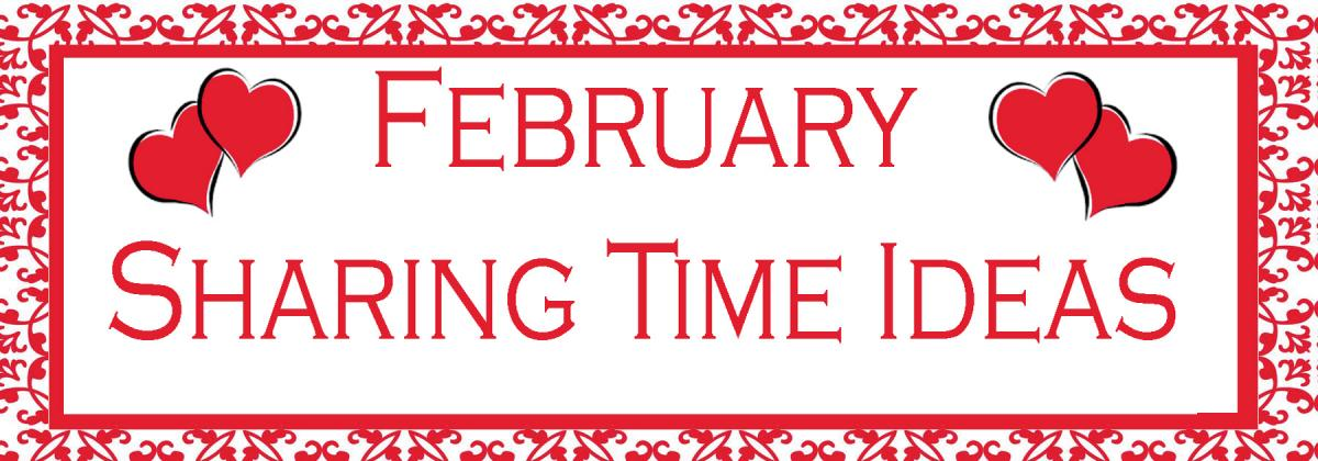 02 february sharing time idea the idea door for Idea door primary sharing time