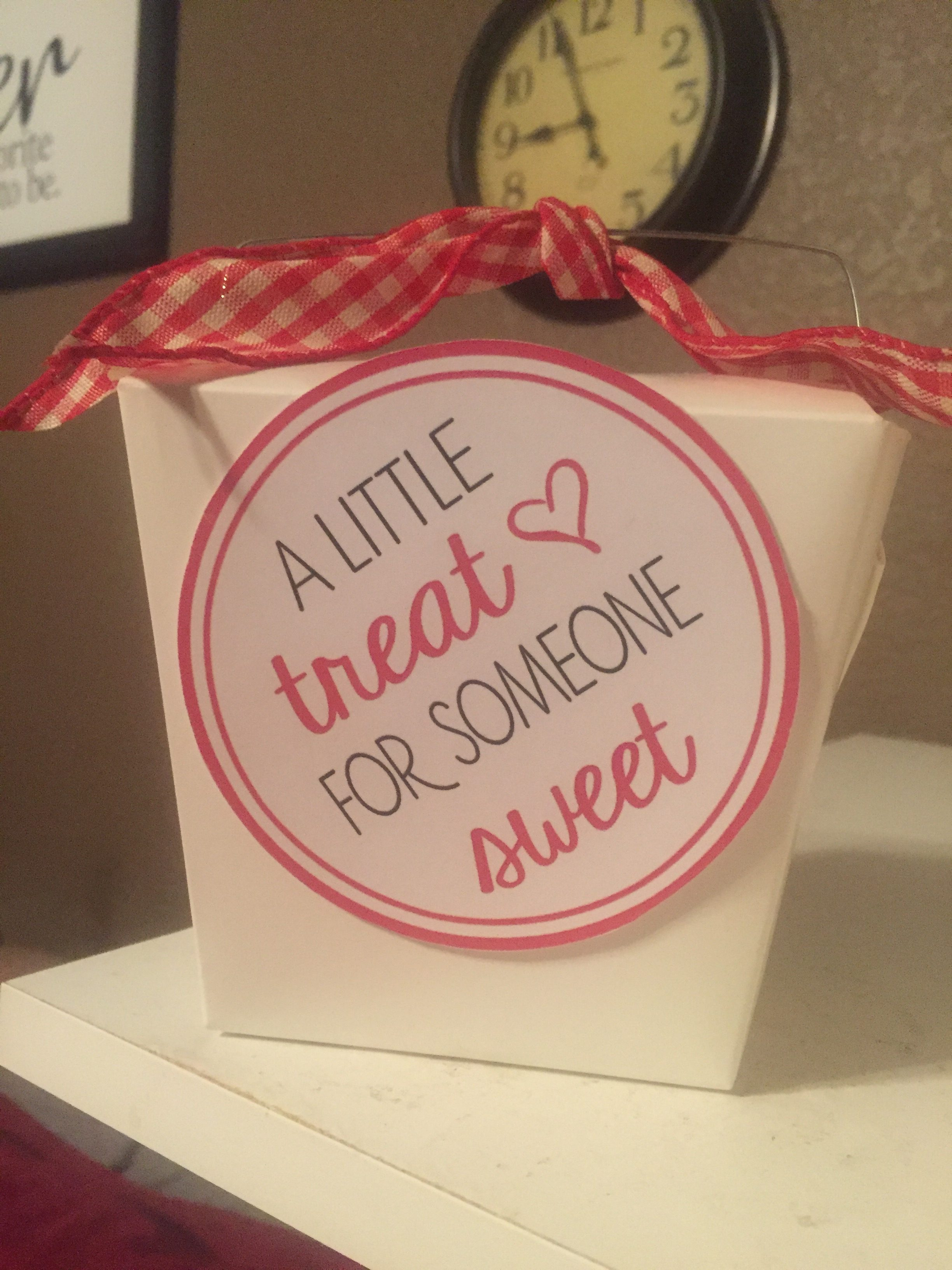 A Little Treat For Someone Sweet Gift Tags