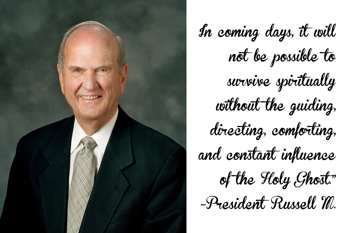 In Coming Days Quote Russell M Nelson